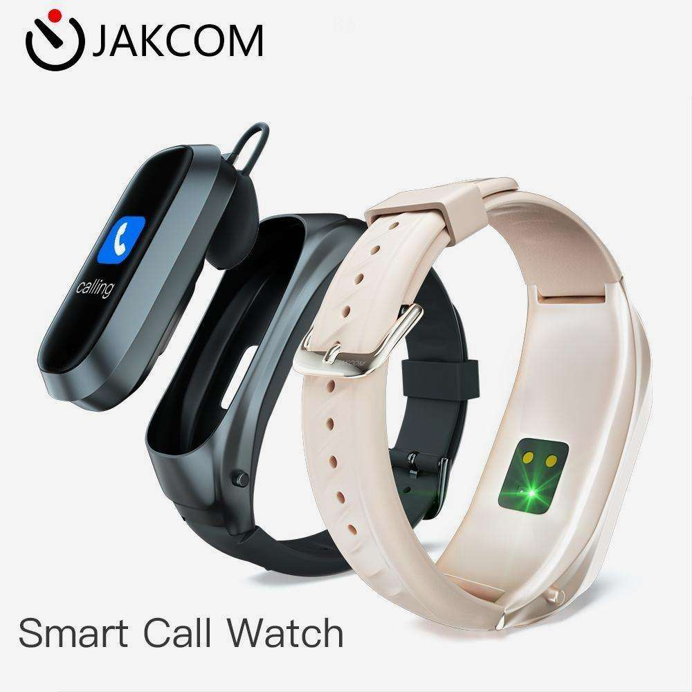 JAKCOM B6 Smart Call Watch of Smart Watches like ticwatch pro round smartwatch kw18 watch best buy 1.5inch stratos lokmat