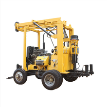 600mm portable water well drilling rig rock bore drilling machine