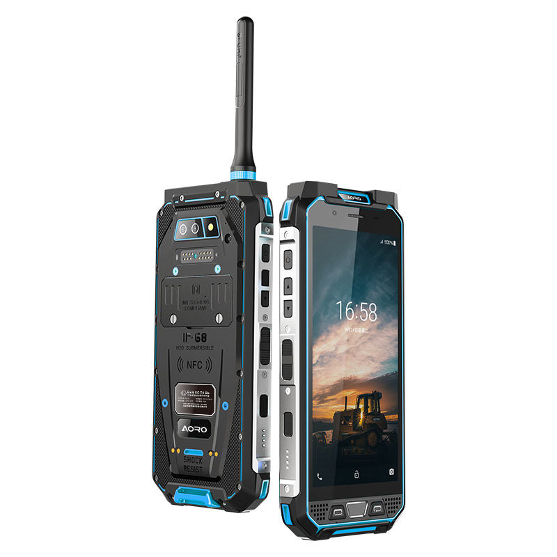 Chinos celulares 4g ppt wolkies talkies militar cel radio telfono movil dmr atex rugged smartphone