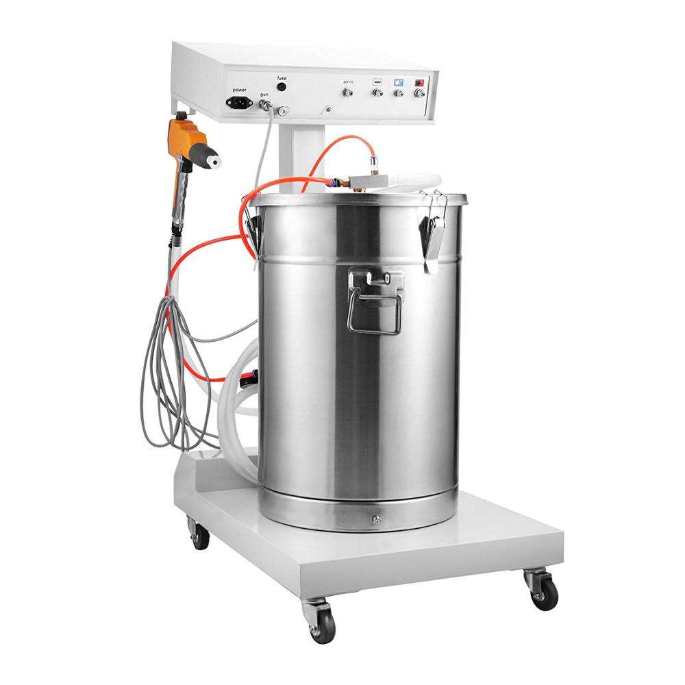 Portable Powder Paint Experiment System Electrostatic Powder Coating Machine with Spraying Gun