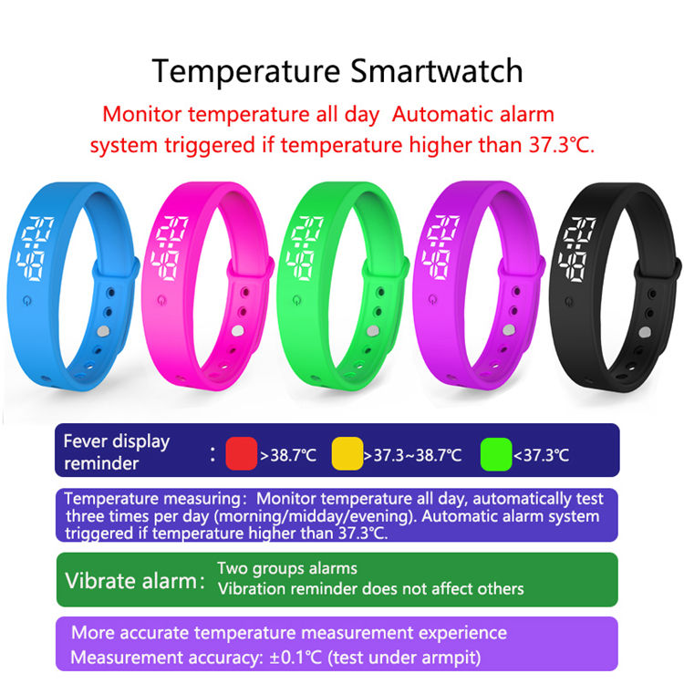 Oem Customized Smartwatch Blood Pressure And Temperature Smartwatch Temperature Ecg