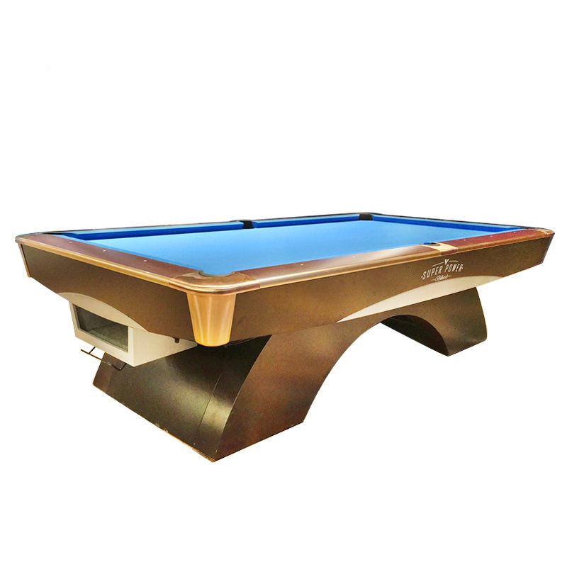 Used Outdoor Billiard Table Solid Wood Cheap Wholesale Price Snooker 9ft Pool Table