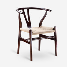 Modern design wooden restaurant leather dining chairs