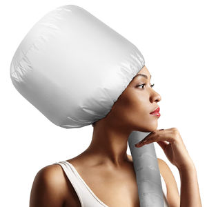 Air Drying Oil Cap Fast Dry Hat Portable Soft Bonnet Hood Hair Dryer Attachment For Hair Care Styling Deep Conditioning