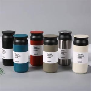 350ml Japan Style Stainless Steel Insulated Coffee travel tumbler 12oz powder coated wholesale With tea infuser
