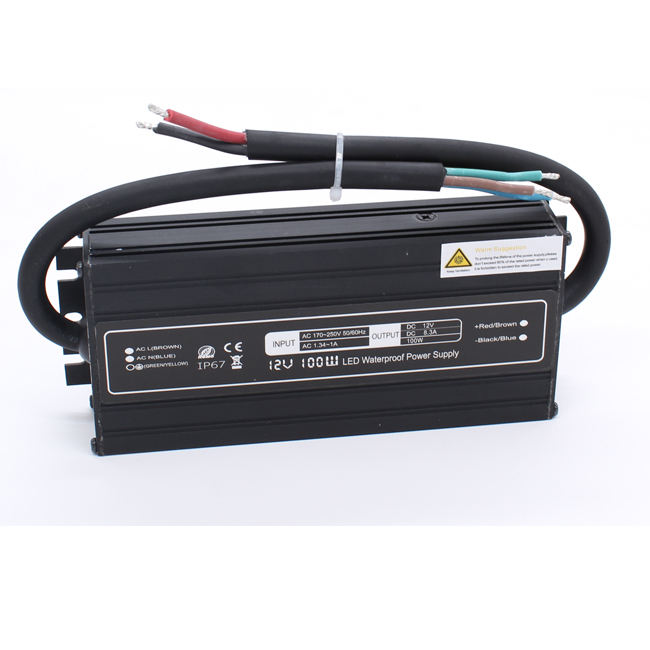 DUAL Manufacturer CE RoHS Constant Voltage Single Output Switch Mode Power Supply 12v 8A 100W Rainproof Smps 12v 24v