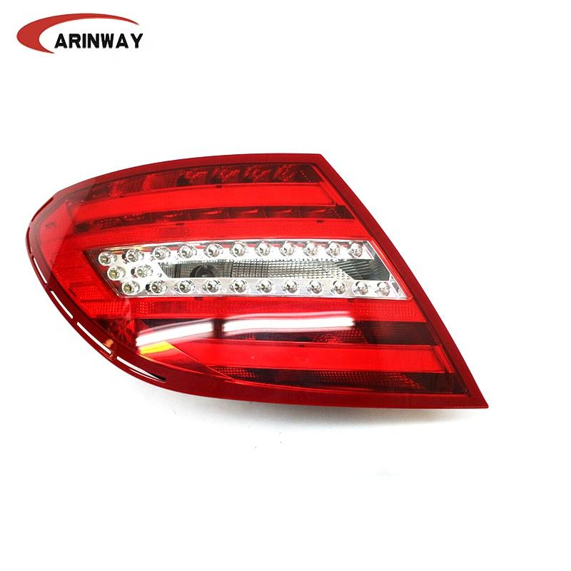 Left Rear lamp 2048203764 LED tail light for Mercedes Benz C CLASS W204 2011 2012 2013 2014