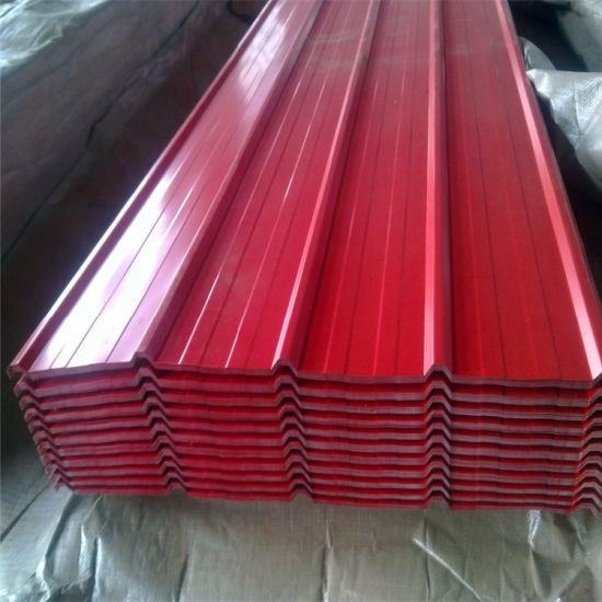 Construction Materials Steel 0.45mm Thick Aluminum Zinc Roofing Sheet Metal Roof Ibr Corrugated Roofing Sheet India