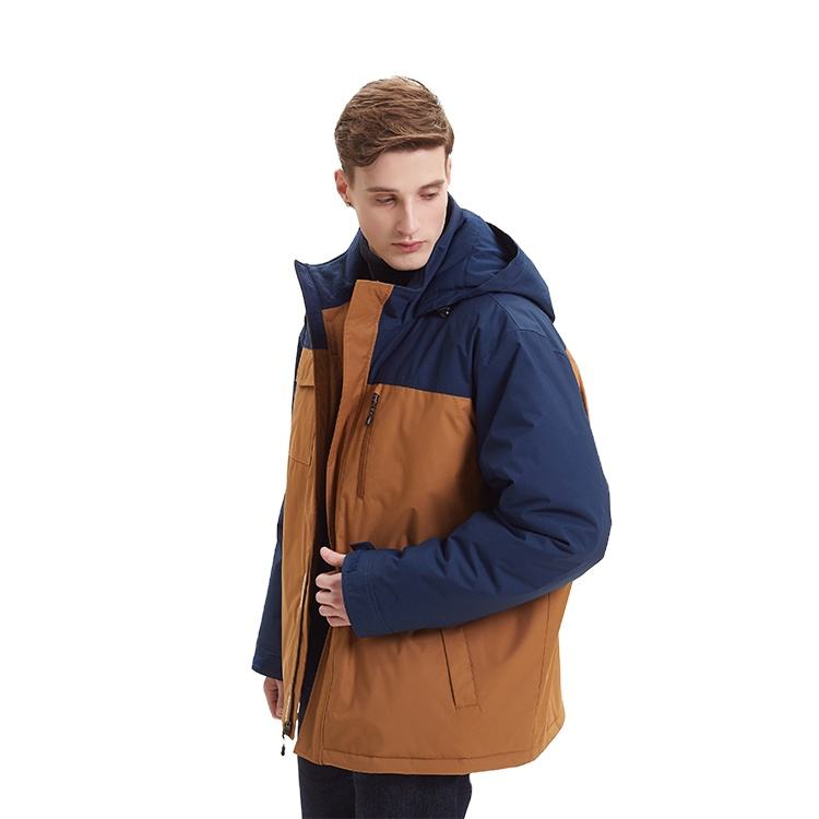 Wholesale Fashion Mens Winter Warm Hooded Men's Jacket Coat