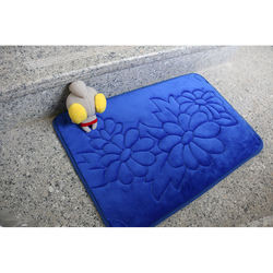 Tufted Shaggy Polyester Absorbent Wholesale Door Mat