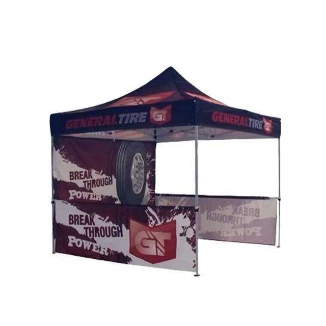 Zoom Standard 10' Popup Tent Custom Printed Canopy