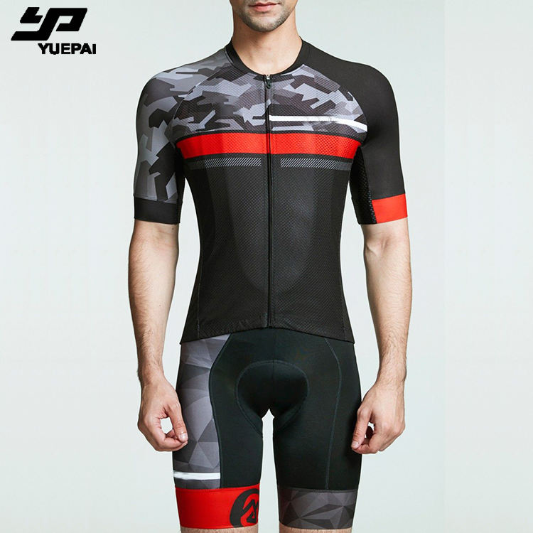 Dropshipping OEM italian fabric bicycle Clothing custom sublimated design print racing wear uniforms cycling jersey set