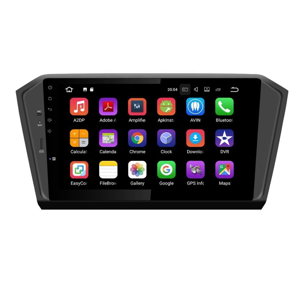 ZESTECH 1 din Multimídia Rádio Do Carro dvd player Para VW Volkswagen Magotan Passta 2015 4 Externo Android 10.0 GPS + 64GB Opcional