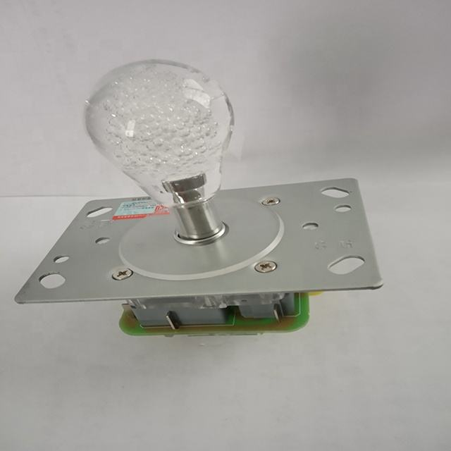crystal ball top flashing illuminated joystick for arcade game machine