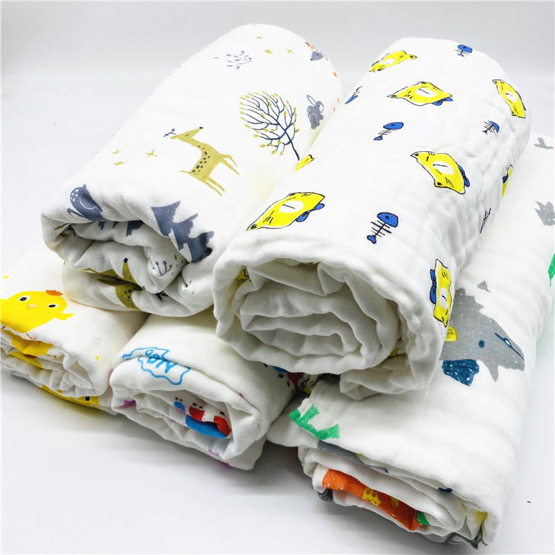 100% Certified Organic Musselin <span class=keywords><strong>Baby</strong></span> 100% baumwolle Swaddle infant swaddle decke//