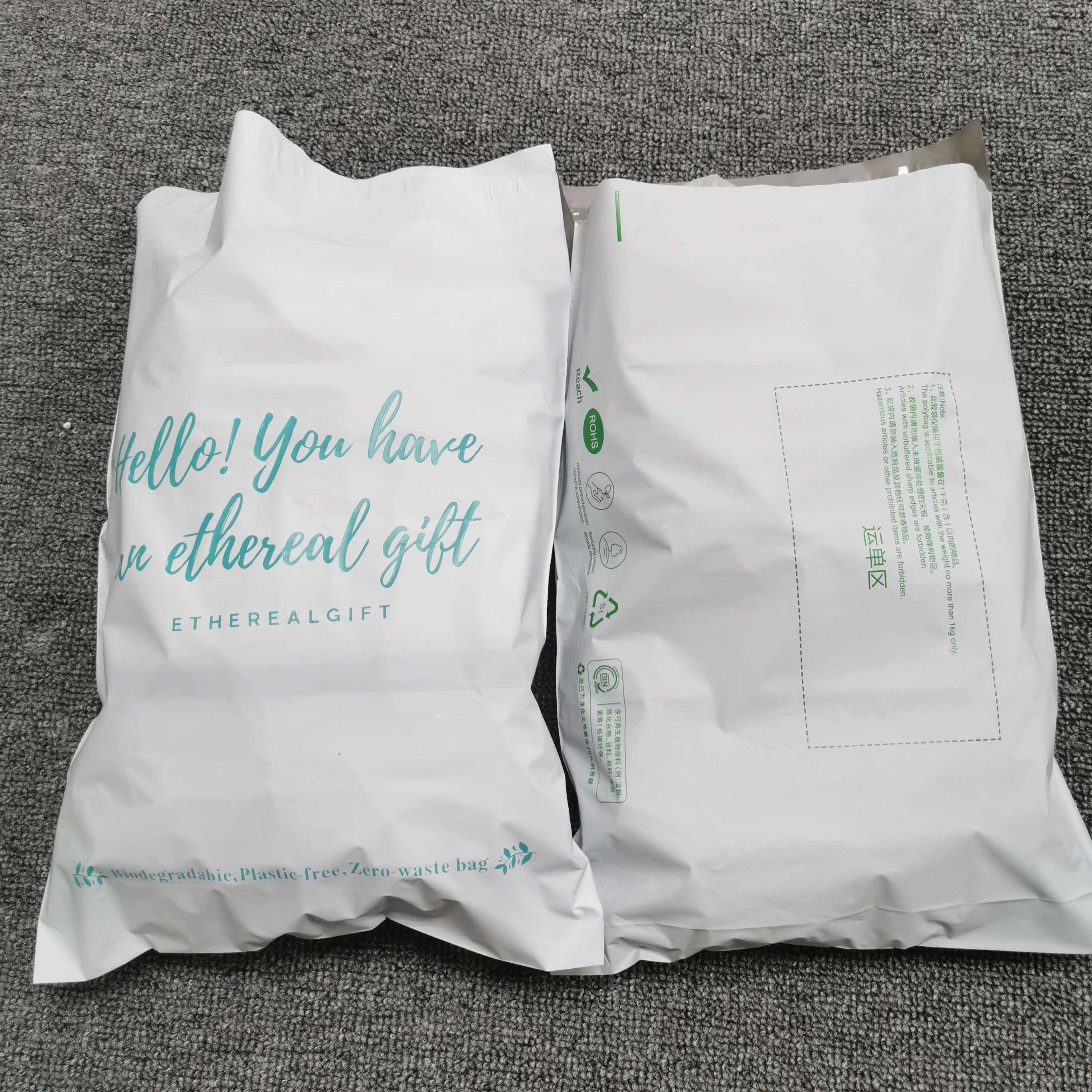 Wholesale High Quality Custom Poly Mailer Plastic Shipping Mailing Bag Envelopes Polymailer Courier Bag
