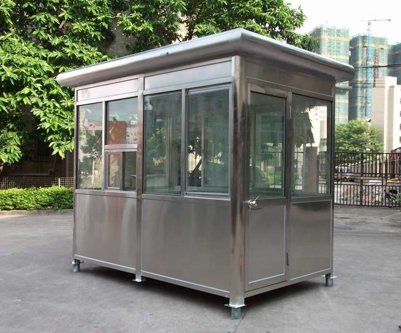 CE certificated small prefab house for security room and guard room