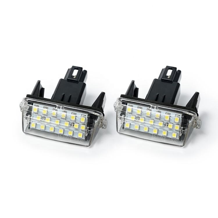 Car replacement led license plate light for TOYOTA CAMRY 2012
