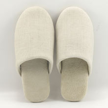 Custom Most Comfortable Soft Bedroom Cotton Linen Washable Winter Warm Indoor Outdoor Home House Slippers for Women