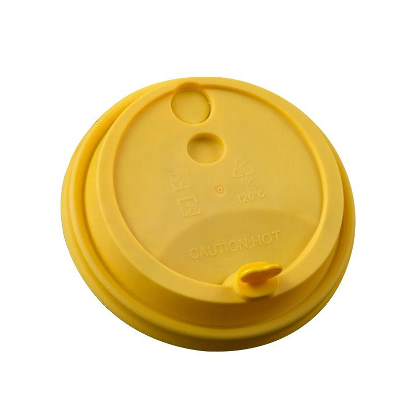 Coffee milk tea cup lid high quality disposable plastic cup lid