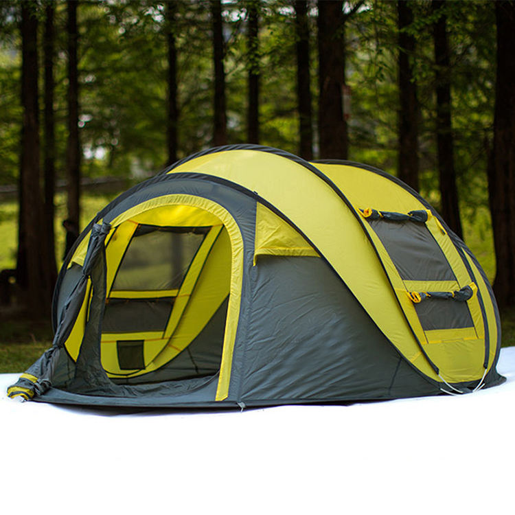 Outdoor Tent Camping Waterproof Tents 4 Person Up