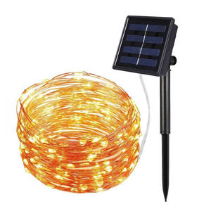 Wholesale Christmas Outdoor Solar String LED Holiday Lighting Lights For Decoration