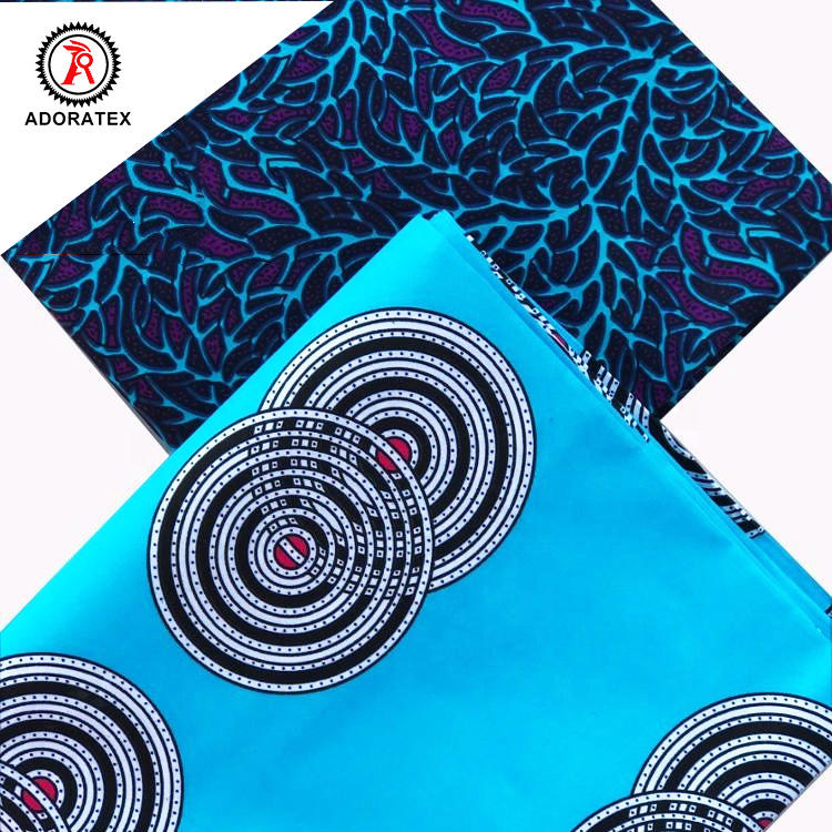 Best selling african wholesale Java polyester fabric wax print fabric african ankara fabric