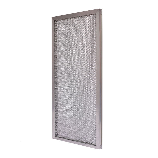 20*20*2 inch Customizable aluminium frame all metal media washable panel air filter for industry air conditioning