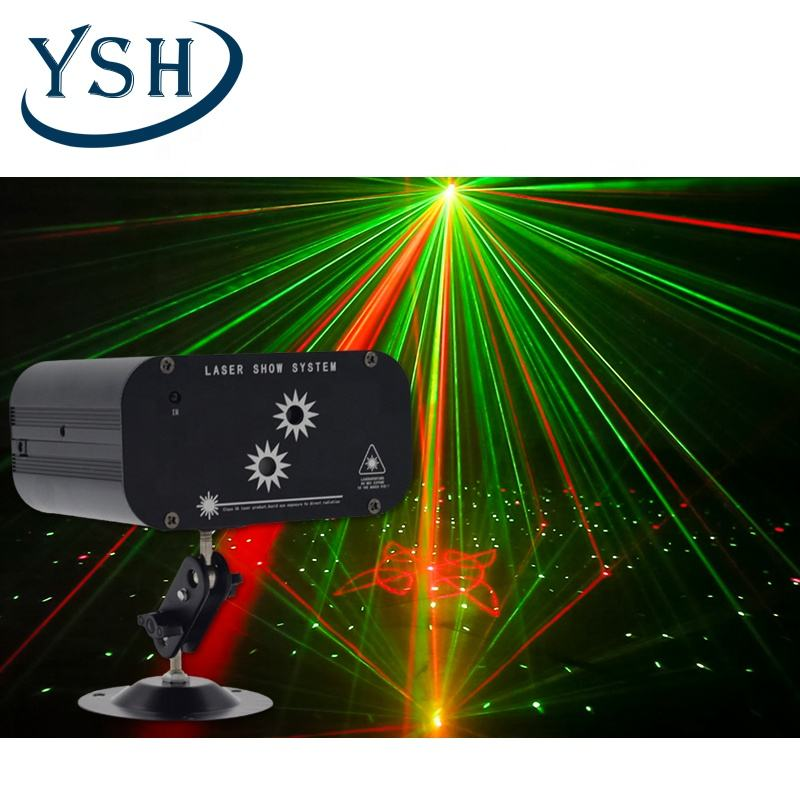 YSH Factory Wholesale Price Free Sample 2 Hole 48 Pattern Laser Light