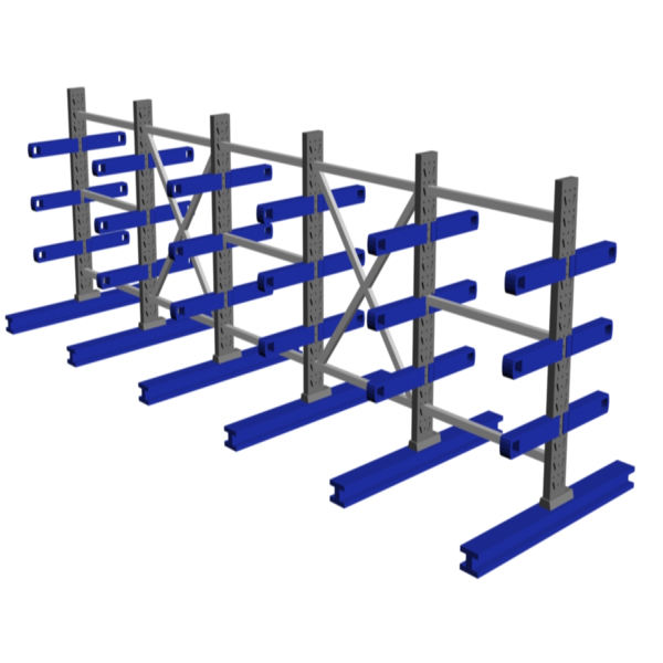Factory price heavy duty cantilever racking for warehouse