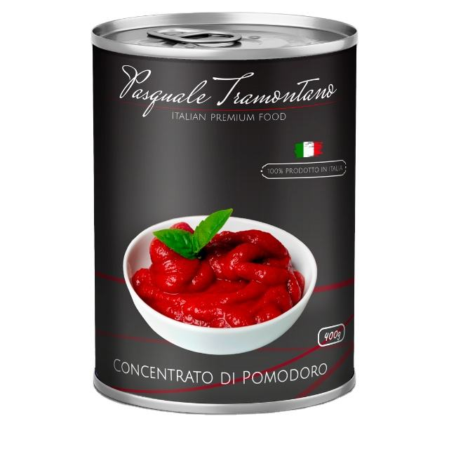 Hot Sale - High Quality Canned Tomato Paste From Italy | 400グラムTin Easy Open