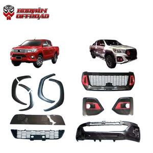 auto exterior facelift 4x4 front body parts for revo rocco 2016-2019