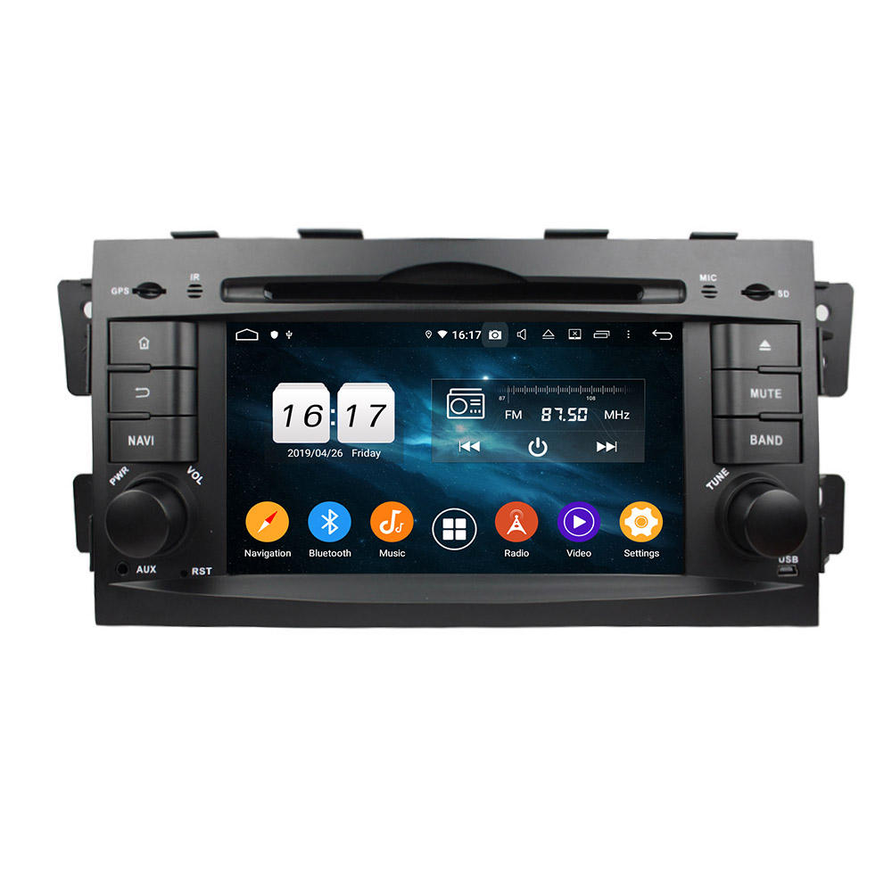 KLYDE Autoradio Android Speler 7''HD Touch Screen Bluetooth Radio Stereo FM/MP3/MP4/Audio/Video /USB Voor Mohave Borrego 2008-2011