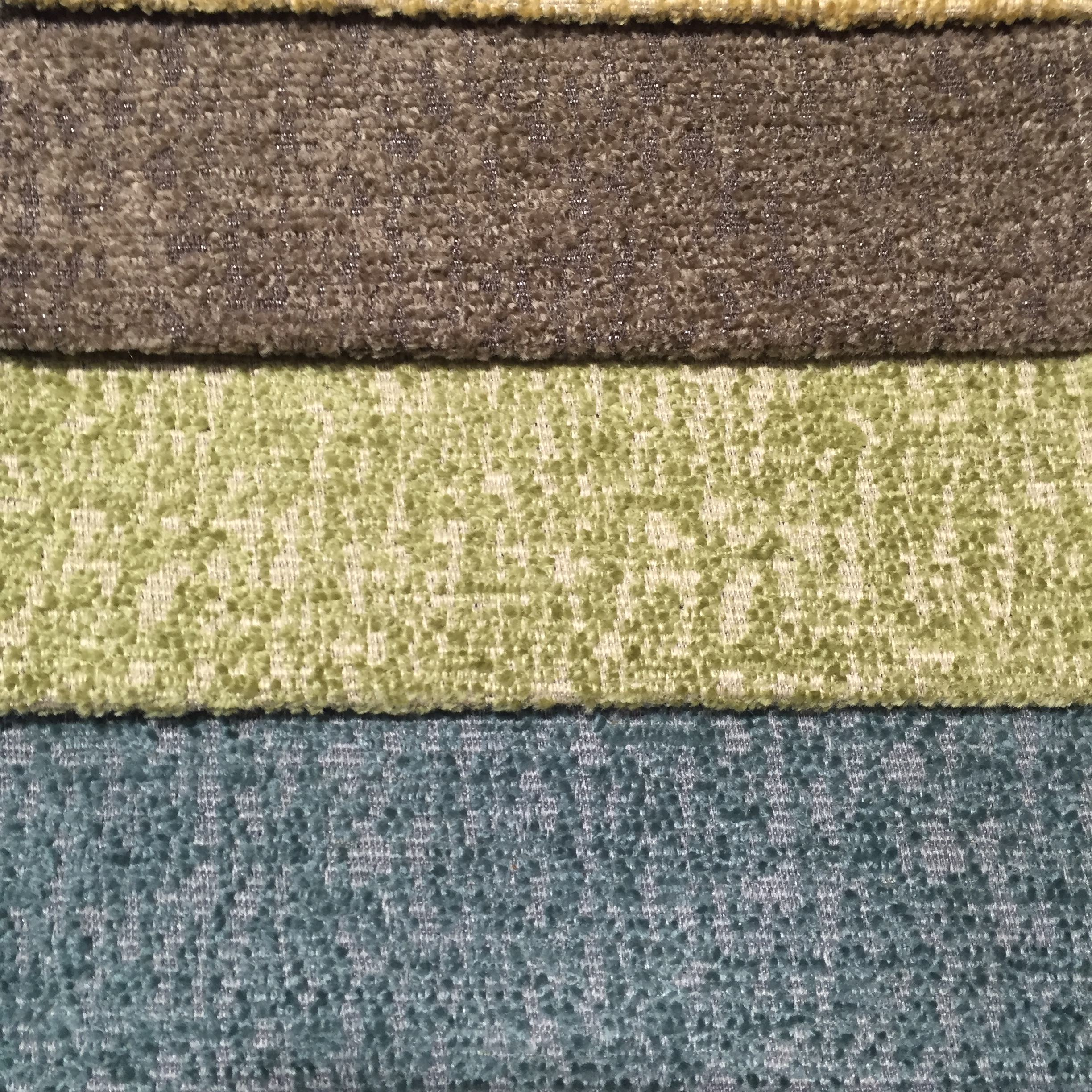 wholesale chenille jacquard plain fabric for sofa fabric upholstery home textile fabric