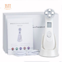 Facial Mesotherapy Electroporation LED Photon Skin Care Face