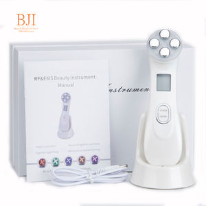 Facial Mesotherapy Electroporation LED Photon Skin Care Face Lifting Tighten Wrinkle Removal Eye Care RF Skin Tightening Machine