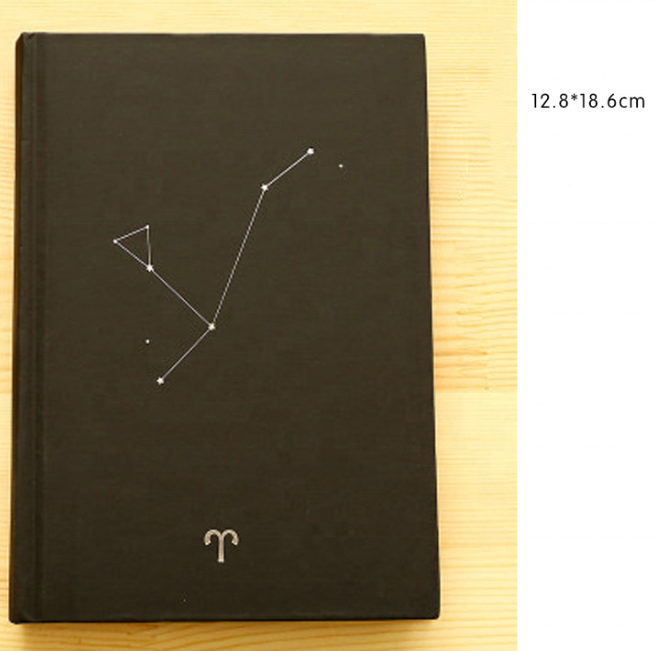 12 constellation creative student notebook 32k diary notebook