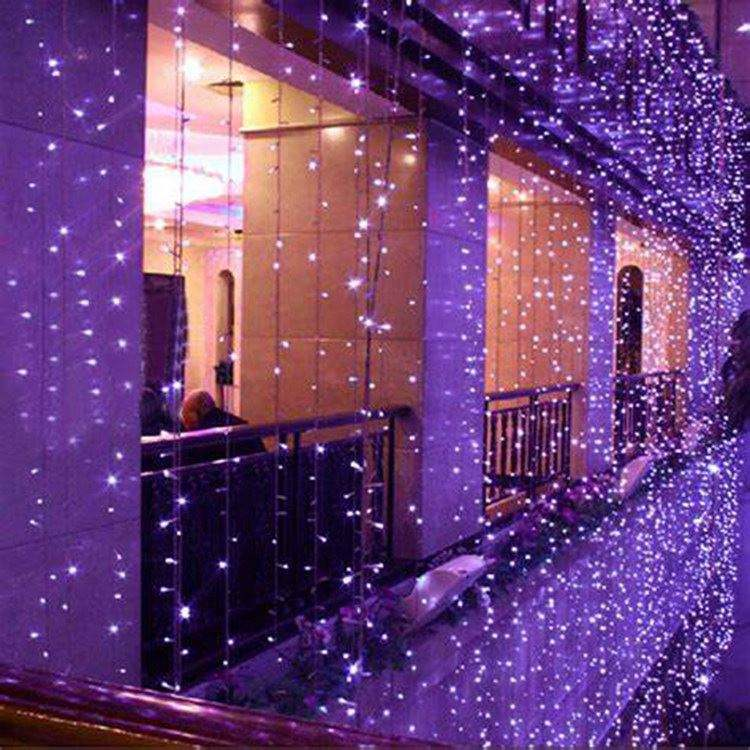 New Led Light String With Color Changing Led String Light RGB Led Curtain Light