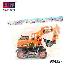 plastic truck engineering vehicle friction toy cars for children