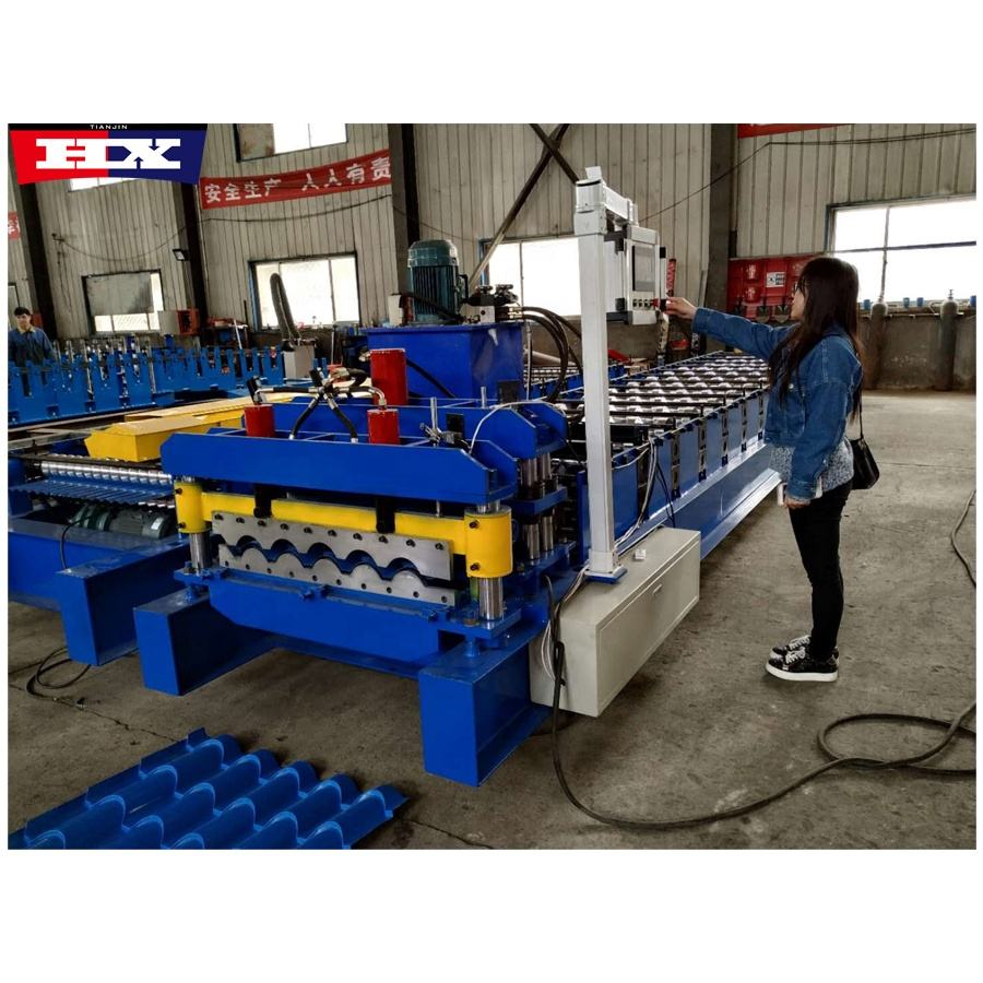 interlocking tiles making machine roll forming machine prices