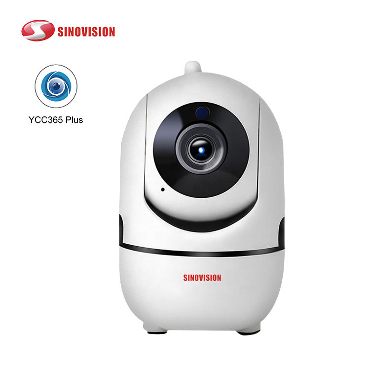 Sinovision New Trend Product HD 720P CCTV Camera Smart Home AI Cloud detection and auto tracking wifi HD 1.0MP camera ycc365plus