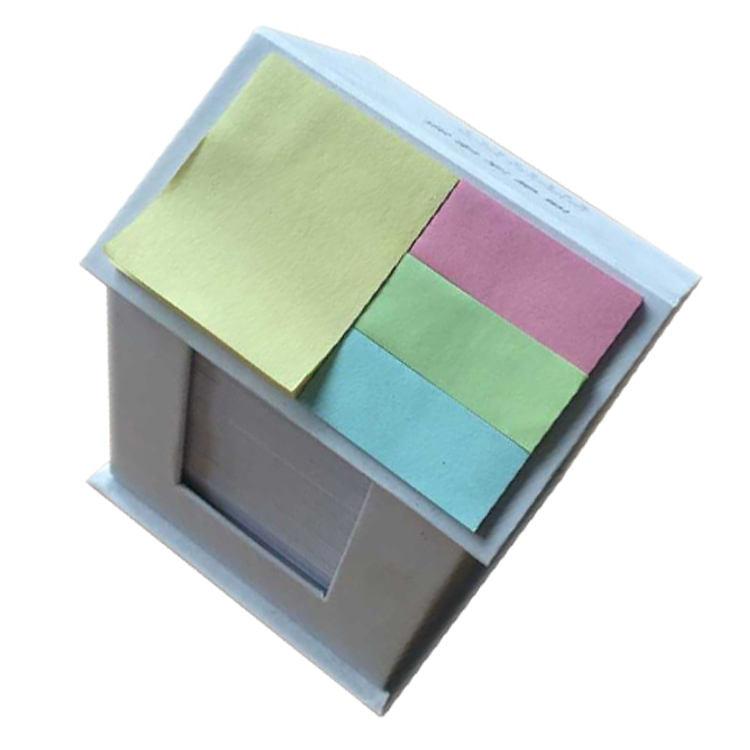 Profesional y de compras en línea de dibujos animados lindo colorido <span class=keywords><strong>Casa</strong></span> de papel en forma de nota pegajosa Pad libro para uso escolar
