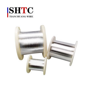 stainless steel solid nickel mig welding wire Silver Plated Copper Wire