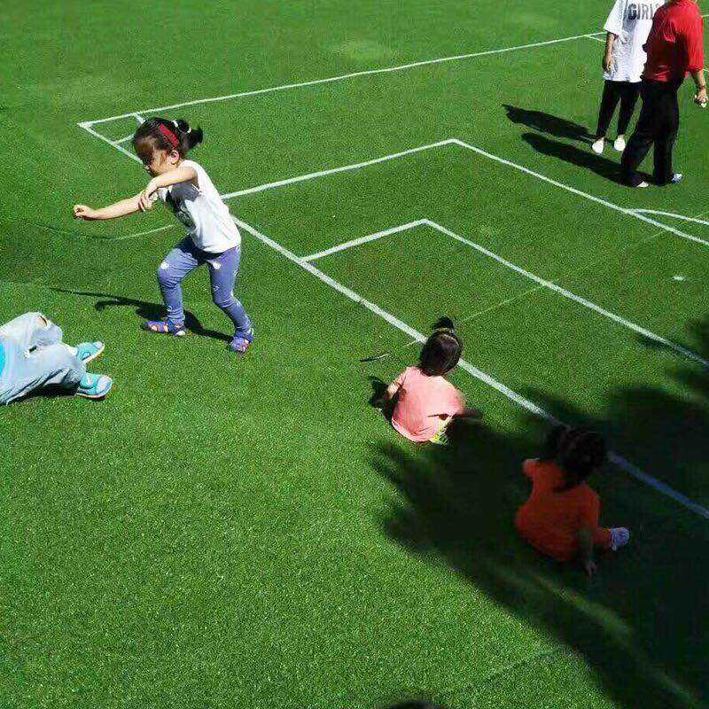 Good quality sports flooring Fire prevention artificial grass