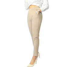 Skinny Women Trousers Lady Casual Pants Elastic Waist