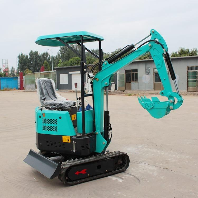 Backhoe Excavator Chinese Excavators Machines Construction 800 Kg Mini Small Backhoe Excavator 1000kgs 900kg For Farming Garden Home Use