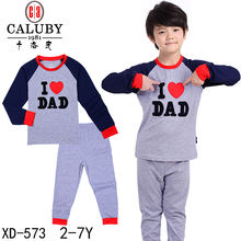 hot styles childrens pajamas  girls and boys suit cotton materail baby cloths
