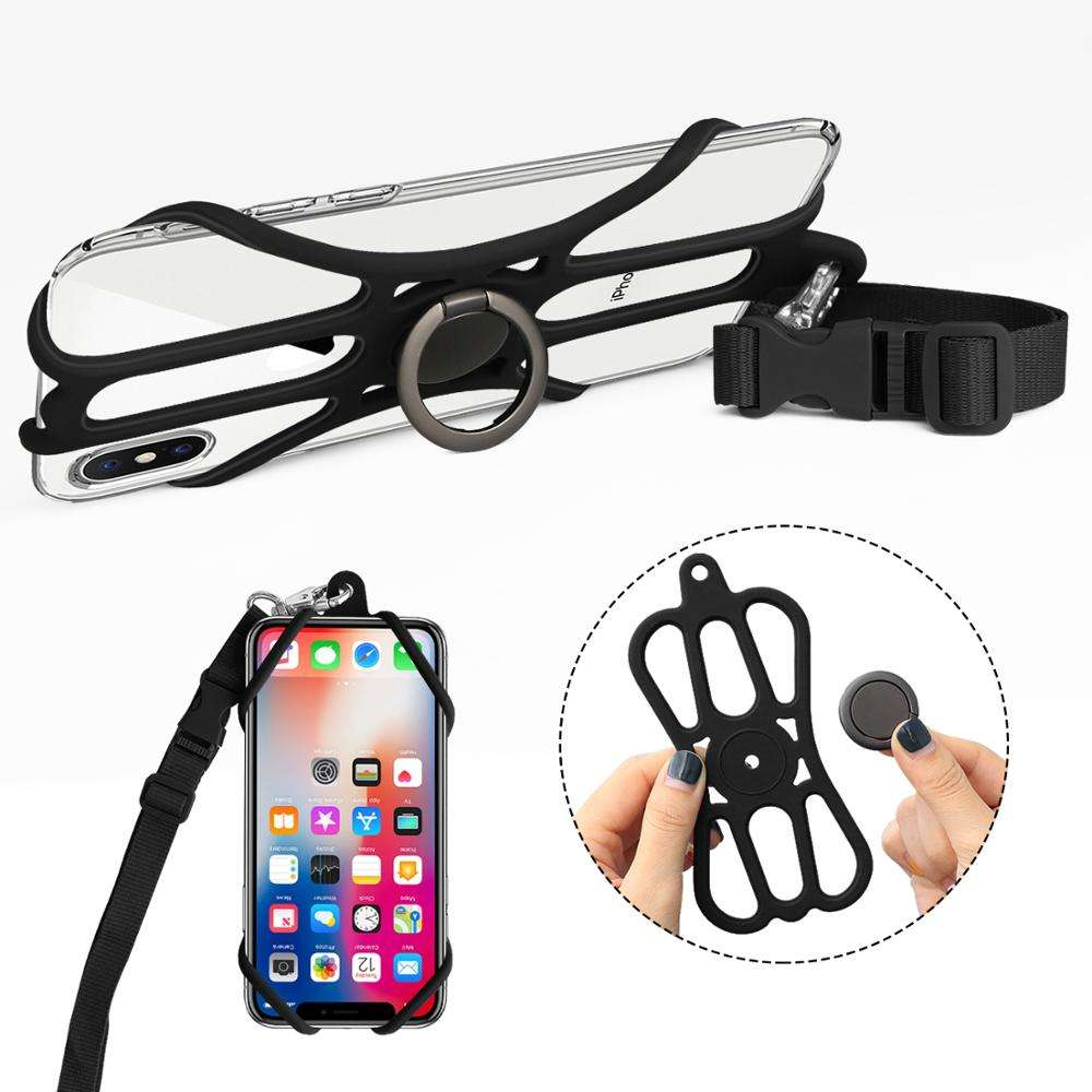 New design Adjustable Neck Lanyard Strap, cell phone case, lanyards with logo custom for iPhone 7/8/X/11 Samsung/huawei