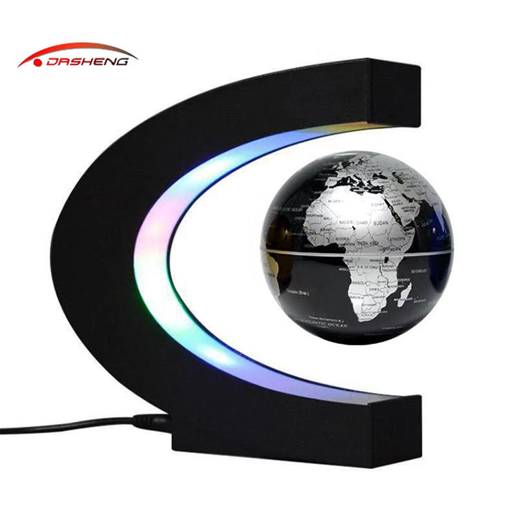 2020 Magnetic Levitation Floating Globe Mysteriously Air World Map with LED Lights Toys
