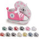 New Born Girl Kid Casual Sock Child Crochet Prewalker Newborn Walking Baby Shoe for Boys